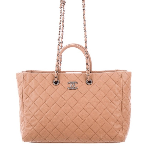 c1ef4849273e CHANEL Bags | Coco Handle Shopping Tote Bag 2017 Quilted | Poshmark